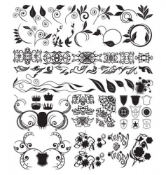 elements for design vector image