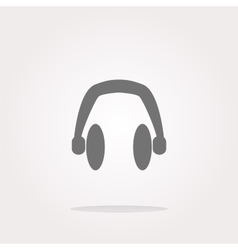headphone headphone icon headphone vector image