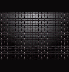 metal grill grid background vector image