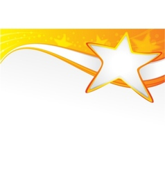 Starry backdrop vector image vector image
