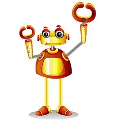 A robot vector image vector image