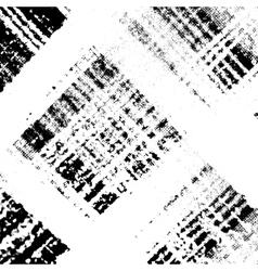 Checkered Distress Texture Diagonale vector image vector image