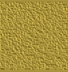 Abstract bump golden background from many circles vector
