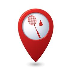 Badminton3 REDpointer vector