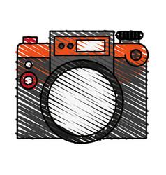 Camera travel and tourism symbol vector