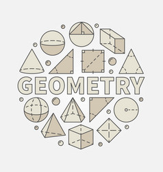Colorful geometry vector