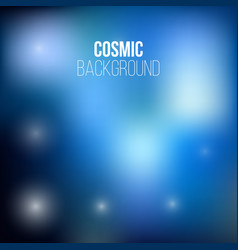 Cosmic adstract backround vector