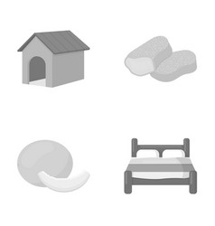 rest care business and other web icon in vector image