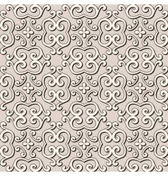 Seamless beige pattern vector image