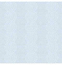 spokes knitted pattern vector image