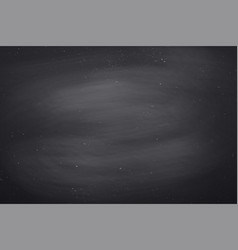 chalkboard texture black empty vector image