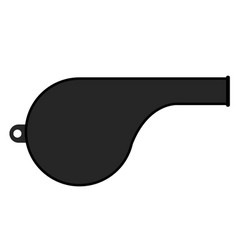 Isolated whistle icon vector