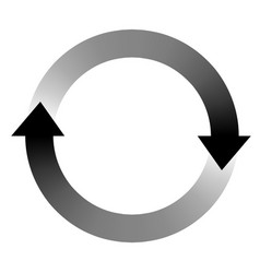loading sign icon symbol download and upload vector image