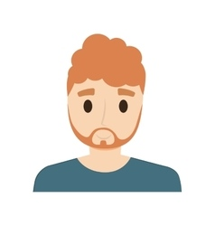 man male avatar isolated vector image