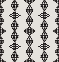 Ornament seamless monochrome 01 vector