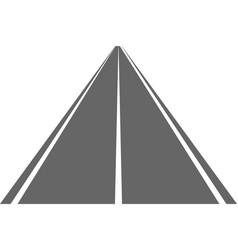 Road street with asphalt highway way for vector