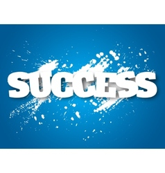 Success concept vector