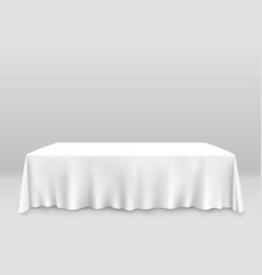 Table with tablecloth art banner vector
