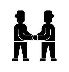treaty - arrangement icon vector image