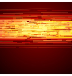 Abstract shiny technology lines and light vector image