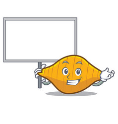 Bring board conchiglie pasta character cartoon vector