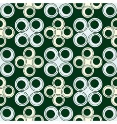 circles seamless design vector image