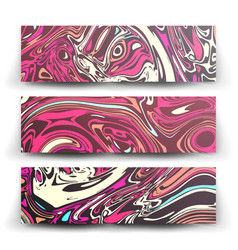 craft liquid texture abstract colorful vector image