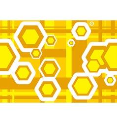 Geometric Texture Hexagons vector