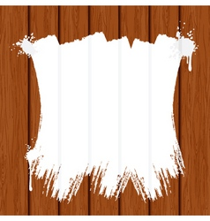 painting wooden wall or fence vector image