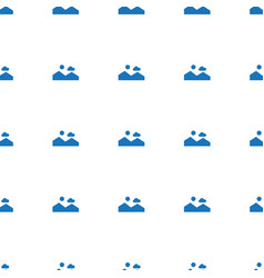 picture icon pattern seamless white background vector image
