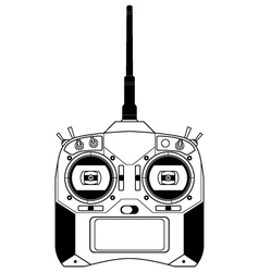 RC Transmitter vector image