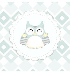 Shabchic owl vector