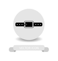 Strap icon vector