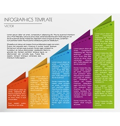 white infographics vector image