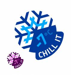 chill it vector image vector image