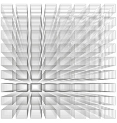 white color abstract infinity background 3d vector image