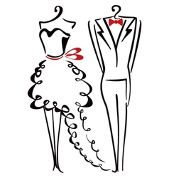 Elegance clothes vector image vector image