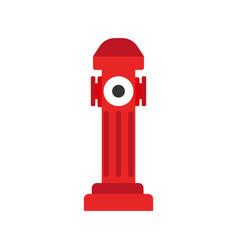 Hydrant icon fire departament equipment icon vector