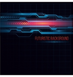 Abstract HUD futuristic background vector