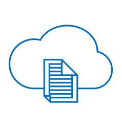 Cloud file storage vector