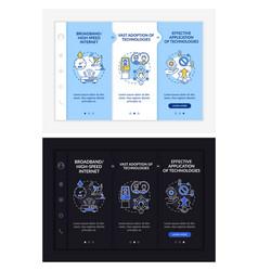 digital inclusion preconditions onboarding vector image