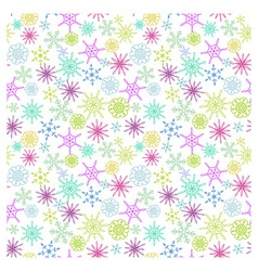 Flakes pattern vector image
