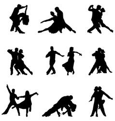 Tango players vector