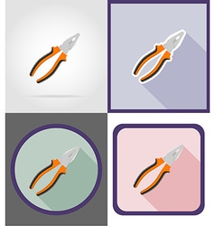 repair tools flat icons 03 vector image vector image