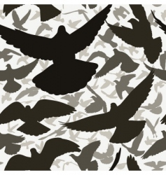 pigeon tile vector image vector image