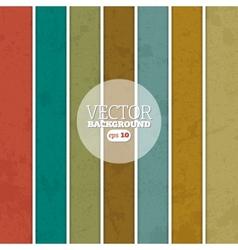 Retro stripe background vector image