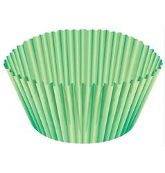 A green cup vector