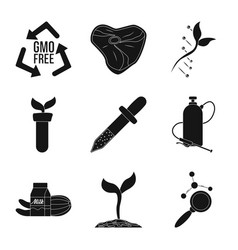 and symbol set of vector image