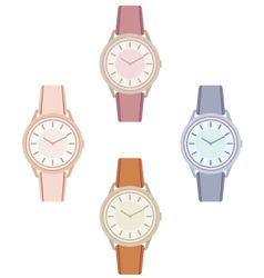 Female wristwatch vector image