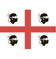 Flag sardinia vector